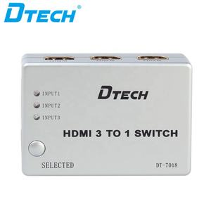 4 Port 1080 p HDMI Nahtlose IR TV Video Switch Switcher 3 zu 1