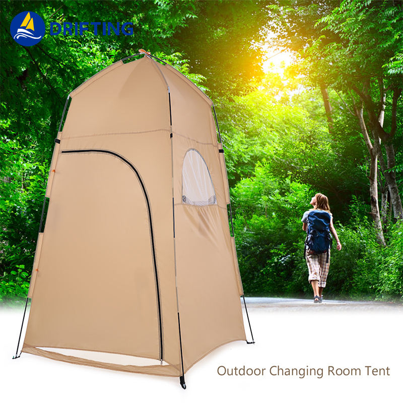 high quality Portable Privacy Shower Toilet Tent Camping Pop Up Tent Camouflage Changing Tent Camping move Shower Bathroom
