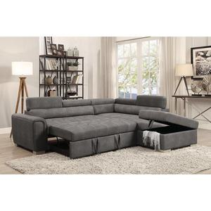 Factory cheap price sofa bed new product leather corner folding sofa bed with storage ottoman sofa cum bed