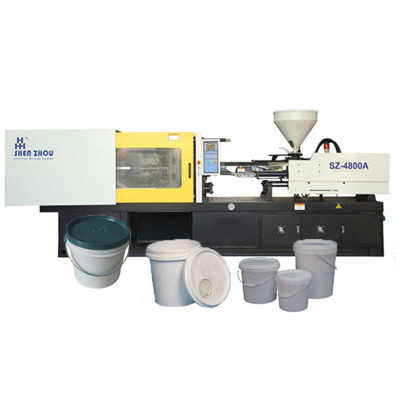 low price high quality plastic paint bucket making manufacturing injection molding machines