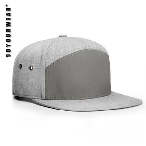 Custom Plain Blank 5 Panel Hat 7 Panel Cap for Men