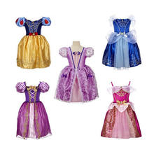 Wholesale Custom fairy Princess Dress Costume for kids baby girl wonderful snow white princess dress PGCC-2028