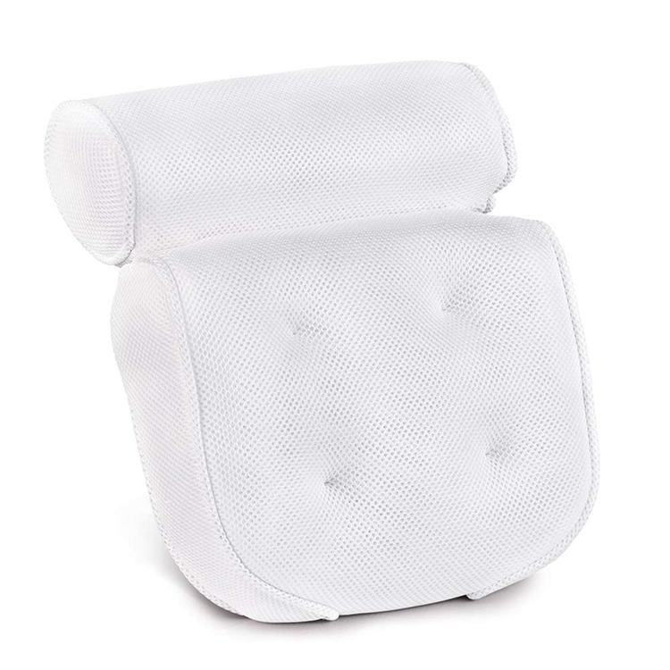 Wholesale Non-Slip 3D Mesh SPA Bath Pillow Luxury Bathtub Pillow