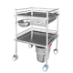 YFQ001 Medical 304 Stainless Steel Dressing Trolley