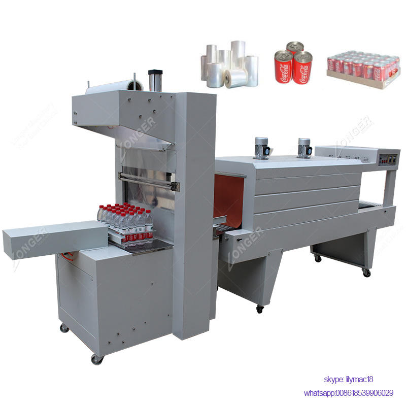 Semi-Automatic Heat Seal Shrink Wrap Tunnel Packaging Shrink Wrapping Machine