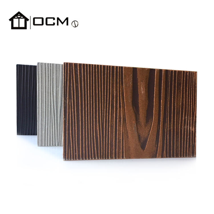CE approval 100% Non-asbestos Light weight Fiber Cement Panel Siding