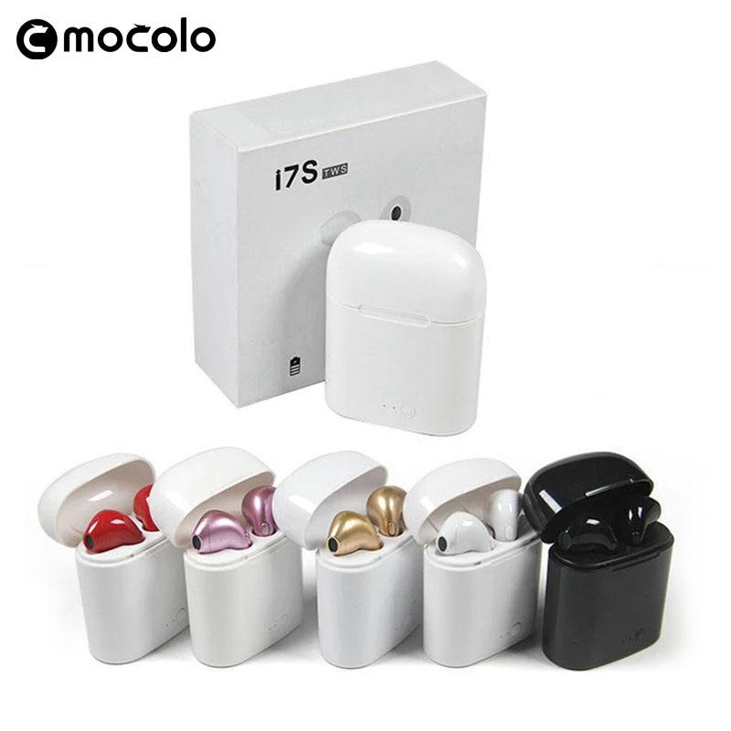 2019 TWS Wireless Sport Earbuds I7, Bluetooths Headset I7, TWS I7S Headphone I7 Mini Earphone with Good Offer headphones