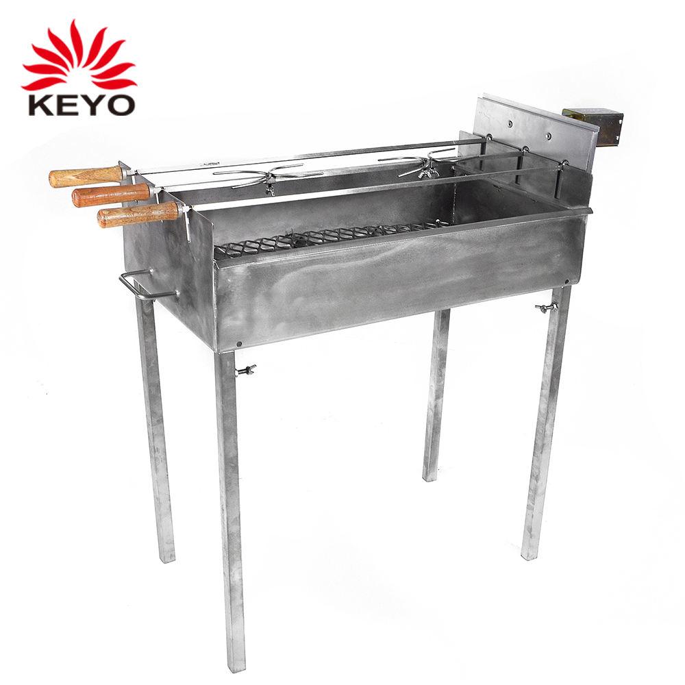 Heavy Duty Stainless Steel Electric BBQ Spit Rotisserie Hog Roaster Motor 80kg