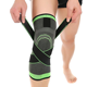 The hot selling adjustable knee support brace basketball knee sleeve knee compression sleeve support for running