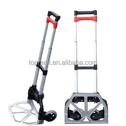 NEW TOPRANK SGS approved customized hand shopping trolley for traveling
