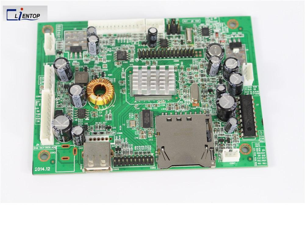 Goedkope reclame media player1080p 30pin LVDS controller v59 LCD monitor pcb AD board