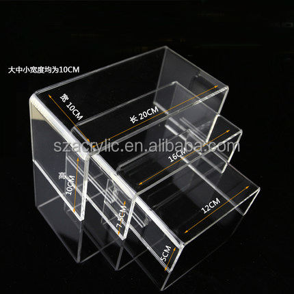 Customized high transparent acrylic shoe hanger shoe display hanger