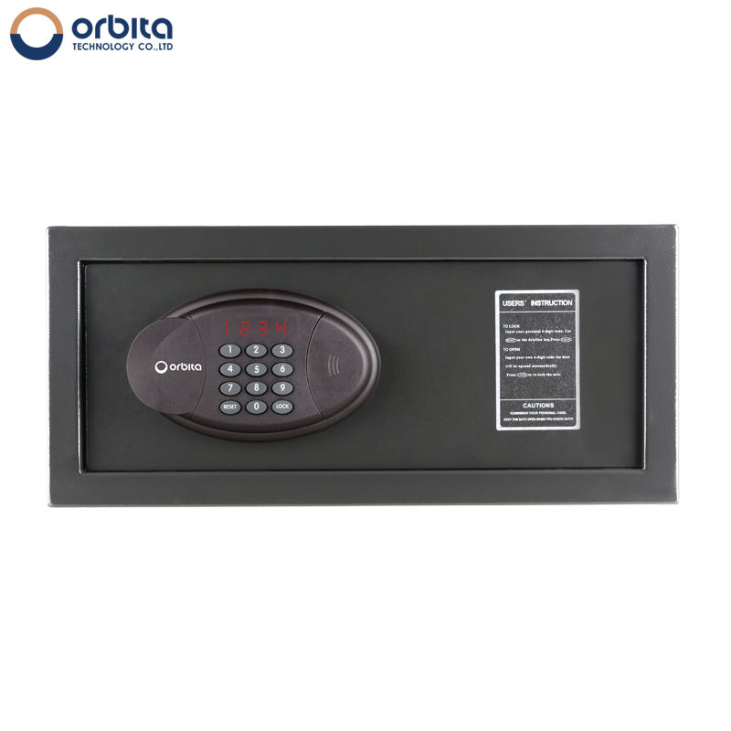 High quality laptop size digital mini security hotel safe deposit box, hotel use electronic safety vault