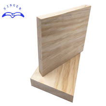 Singerwood melamine teak wood solid laminated board sizes with CE certificate