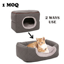 Petstar polyester cat bed pet cat manufacture supply