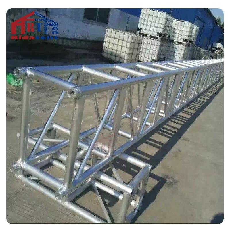China Heavy Duty Used Roof Folding Aluminum Exhibition Booth Spigot Square Dj Stage Lighting Truss For Sale