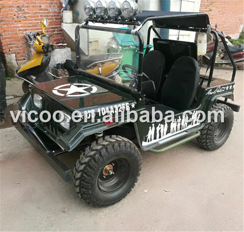 Hecho en China CE 800cc 4*4 mini willys