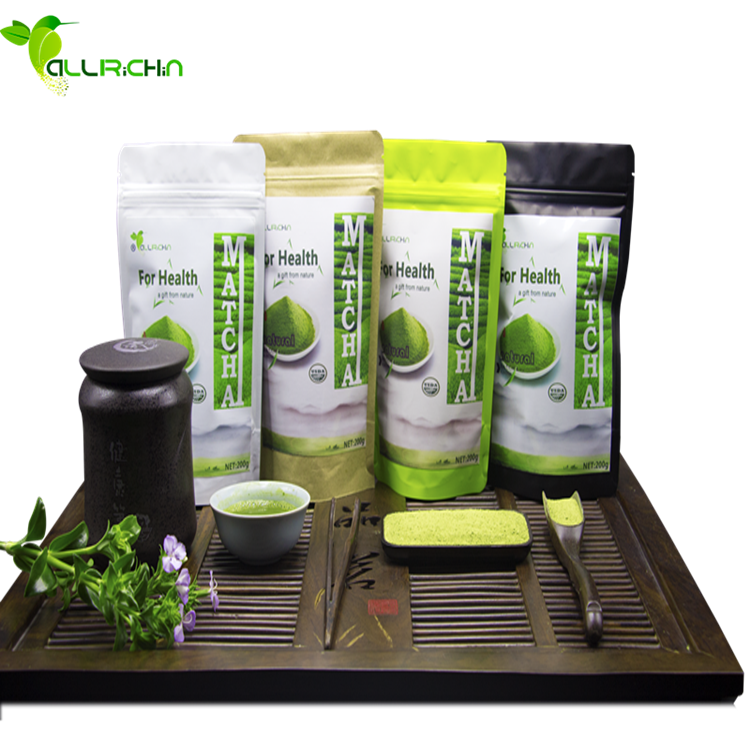 Natural Private label Pure Organic Matcha Green Tea Powder For Energy Drink