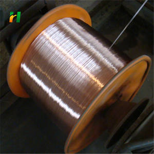 High tensile strength 0.14mm ccs wire copper clad steel