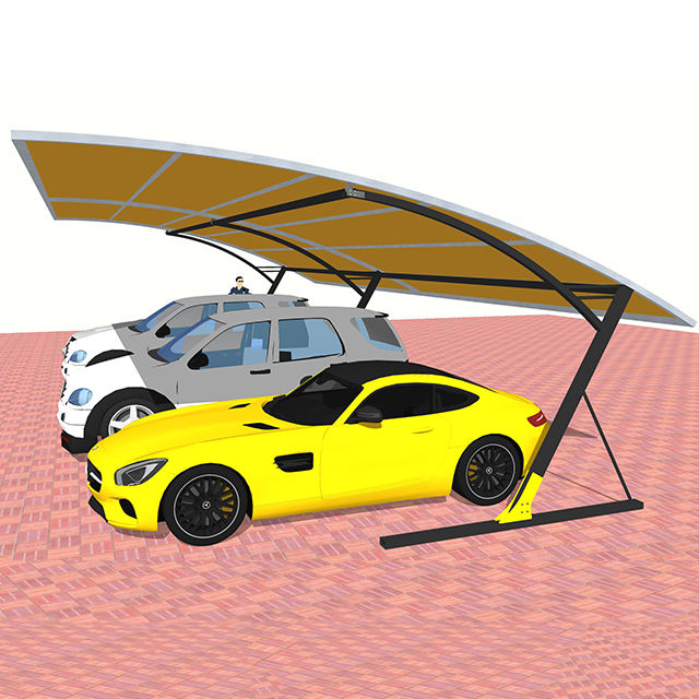 6x12 meter steel car parking structure tent gazebo GSP-6