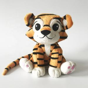 OEM hot sale custom stuffed tiger plush toy doll