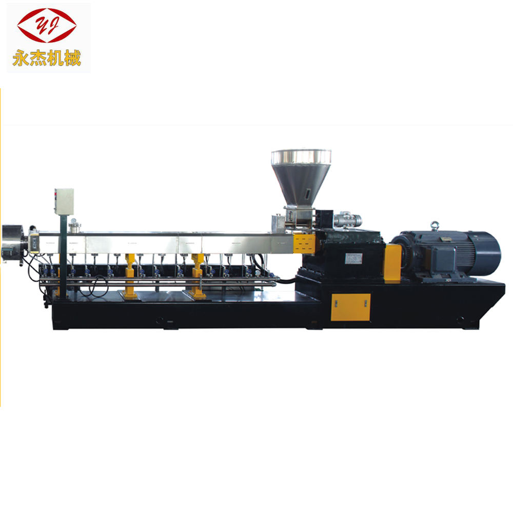 good quality bottle flake pet plastic recycling machine water strand twin screw extruder