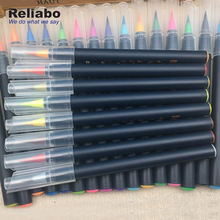 Reliabo Water Color Markers Children Drawing Watercolor Brush Pen Set