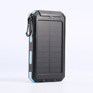 Portable waterproof shockproof dustproof cheap solar charging power bank