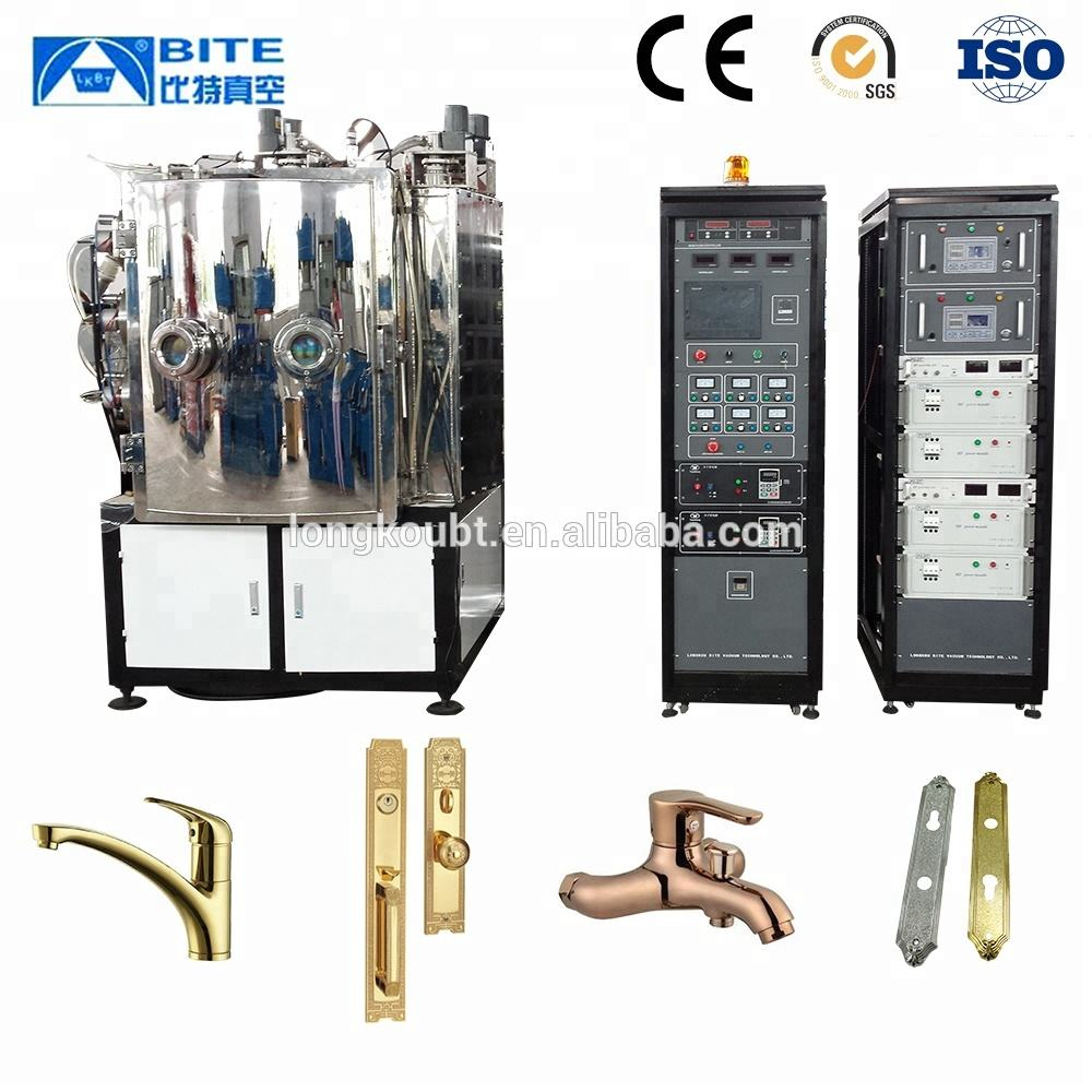 Titanium nitride TiN multi-arc ion plating machine/Plasma arc ion coating apparatuur/sputter coater (Pvd technologie)