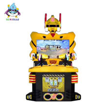 China factory new design power rangers arcade shooting game machine