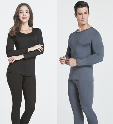 thermostatic underwear thermal underwear fabric top for men