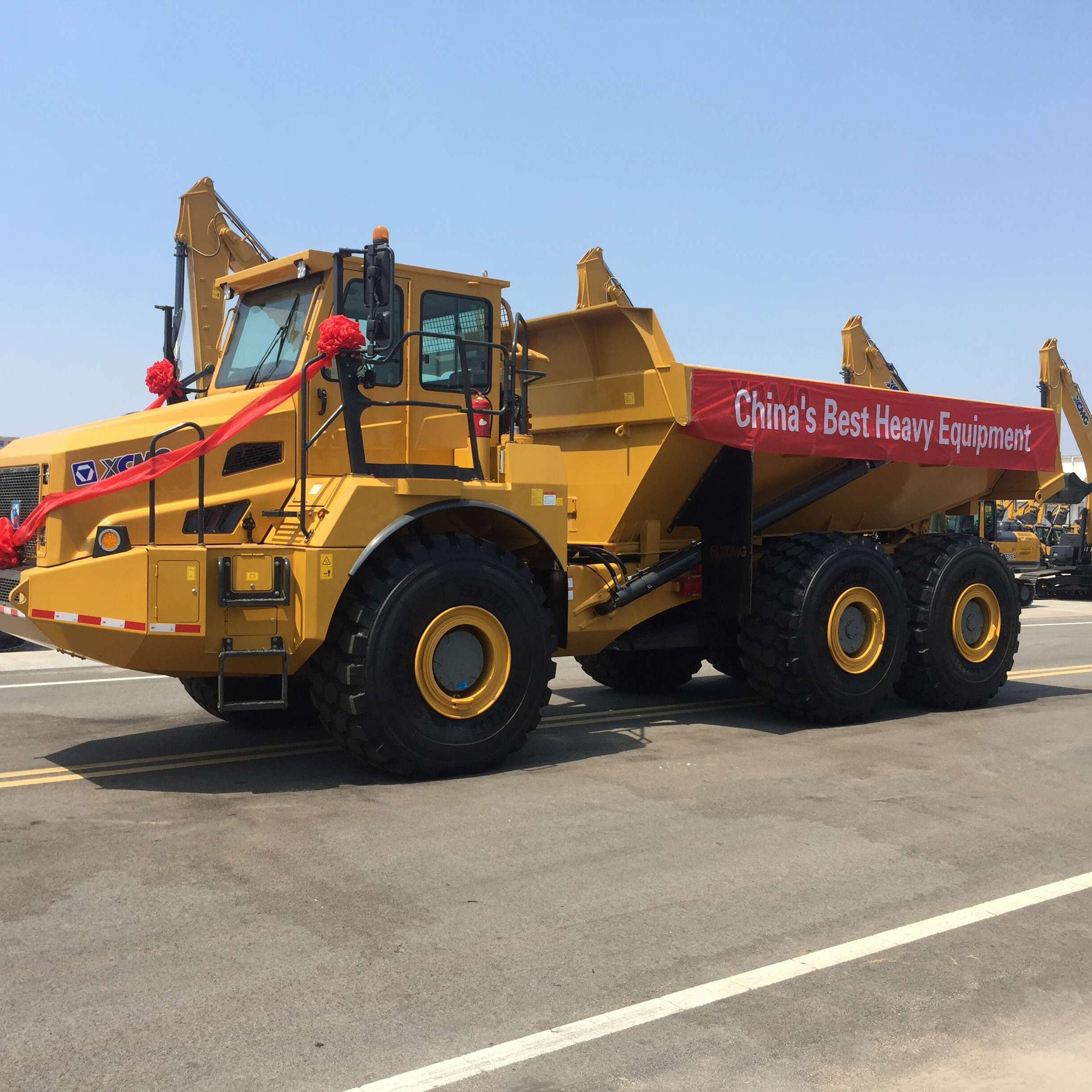 40T dump truck XDA40 tipper truck in stock