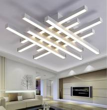 Modern LED Ceiling Chandeliers Lights white black body creative ceiling chandeliers lamp for bedroom living room MD1029