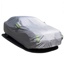 Waterproof Sun Protection Auti-UV Rain Snow 190T Polyester Car Body Cover
