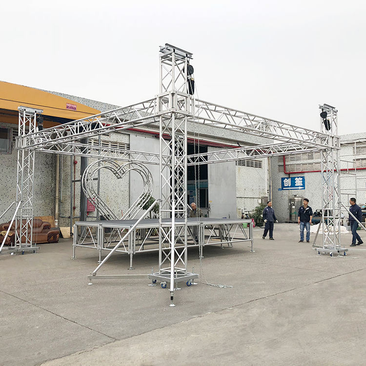 On Sale Aluminum Lighting Truss Used Aluminum Truss