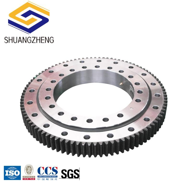 Nitrile Rubber [ Turntable Bearing Crane ] Turntable Bearing 4 Point Angular Contact Ball Turntable Slewing Bearing For Crane