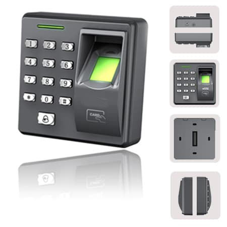 Employee Thumbprint Real Fingerprint Staff Bio Time Attendance System