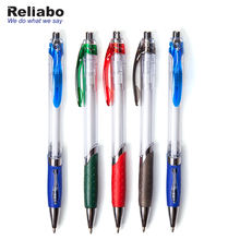 Reliabo Quality Products Blue Color Custom Print Logo Simple Four Color Ballpoint Pen