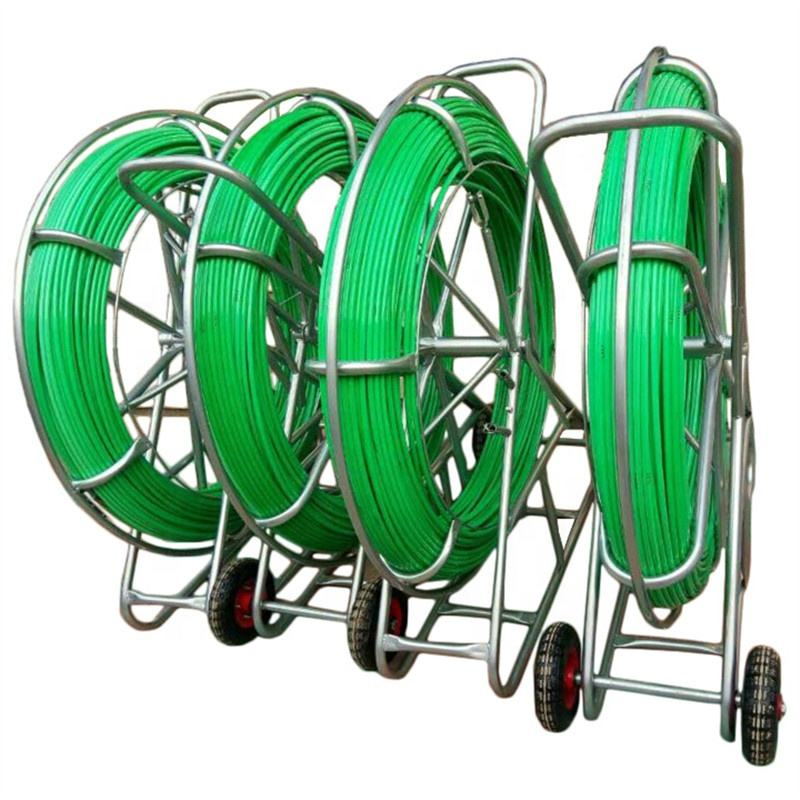 Green FRP Electrical wire puller/underground cable laying
