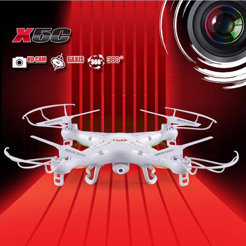 100% Original SYMA X5C RC Drone 6-Axis Remote Control Helicopter Quadcopter With 2MP HD Camera