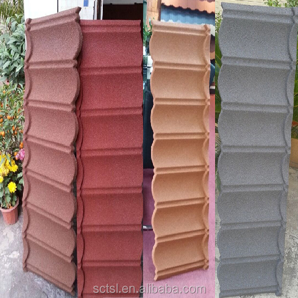 European and American Standard Metal Roof Tiles for Sale