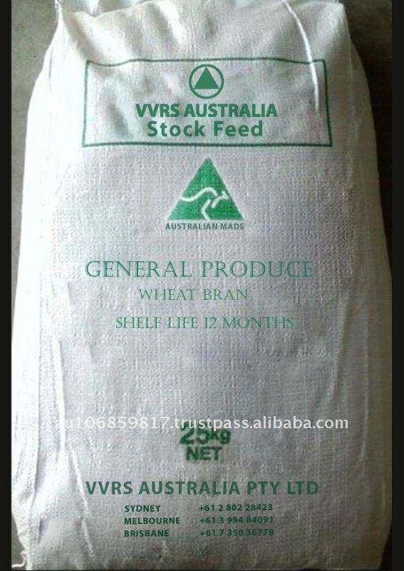 Animal feed for General Produce - Wheat Bran