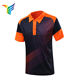 China Custom Factory Simple Style Moisture Wicking Sublimation Polo Neck T-shirt Printing T-shirt Cotton Men T-shirt With Polo