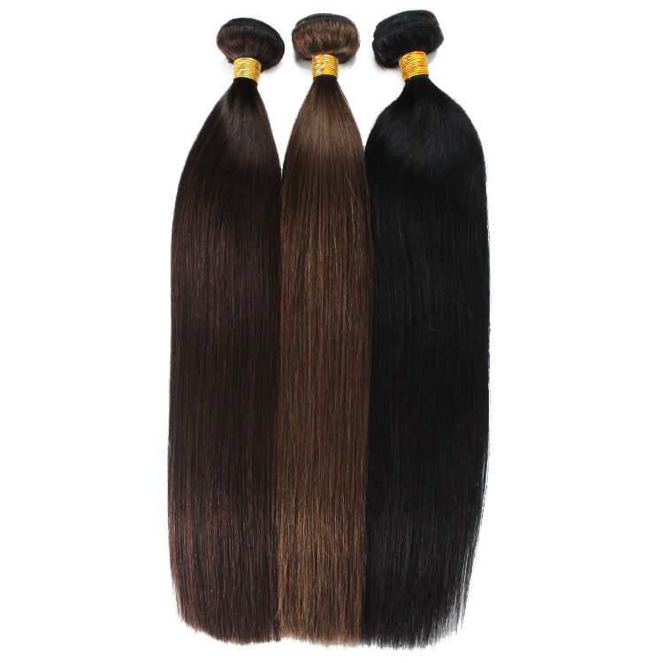 Human hair bundles 9a,10a,11a Silky straight raw unprocessed mink raw Indian hair directly from India