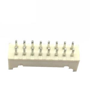 1,5mm 2,0mm 8*2 16 pin hembra pcb molex oblea conector