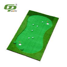 Good sport fake synthetic lawn golf putting greens mat,golf course with artificial grass
