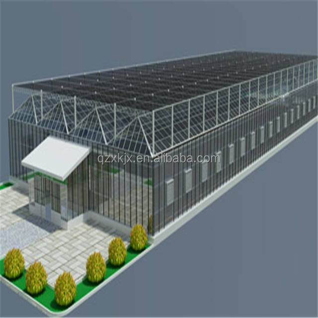 The cheapest hot sale multi-span commercial polycarbonate PC greenhouse