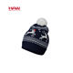 High Quality Christmas Fashion Custom Winter Hats Knitted Wool Hat