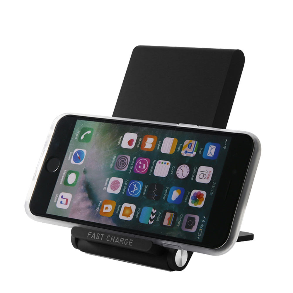 2019 new arrivals 3-Coil Qi Wireless Charging Stand for iPhone Xs X/8 Samsung Galaxy Note 9/S9/Note8/S8/S7 Edge and more