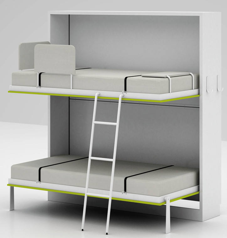 Easy Assembling new design wooden bunk bed for adults or children